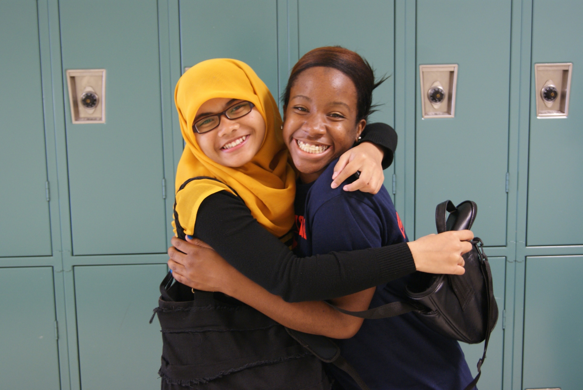 PAX Exchange Student from Indonesia with American School Friend